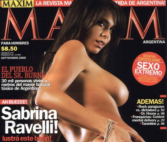 Maxim---Sabrina-Ravelli