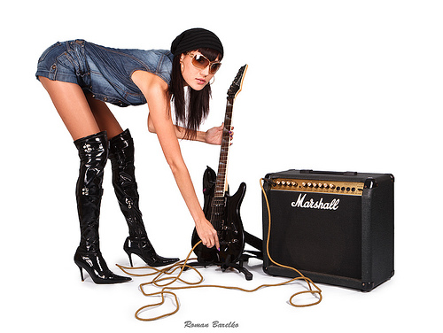 6 Chicas rockeras y metaleras