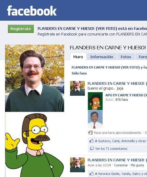 Flanders Facebook humor
