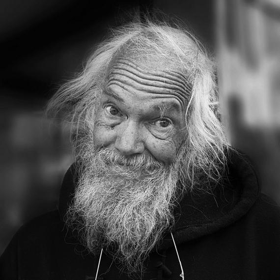 foto retrato en blanco y negro