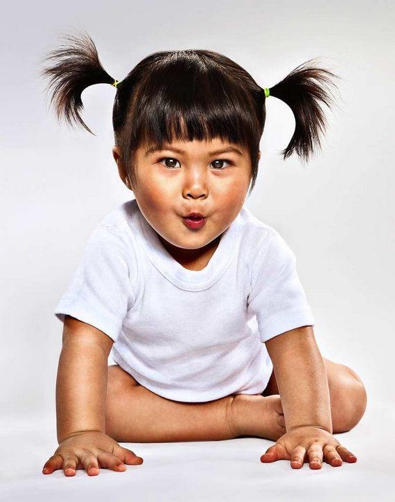 Fotos graciosas de bebes
