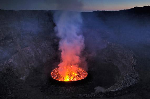 Fotos del Crater Nyiragongo