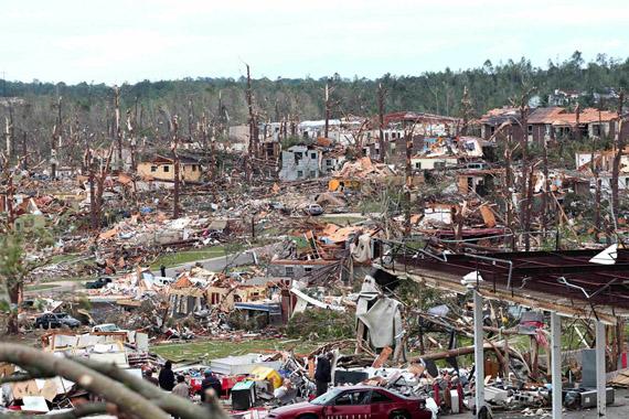 Tornados en EEUU
