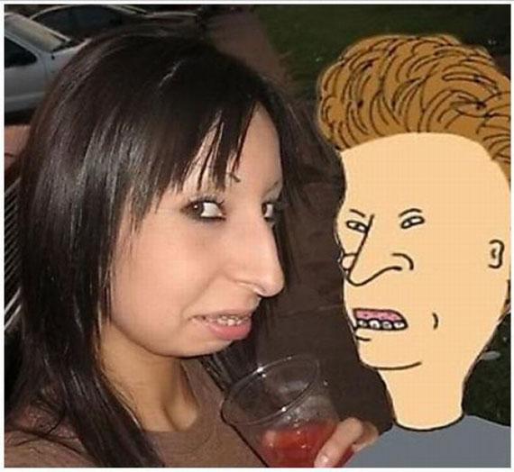 Personas parecidas a dibujos animados