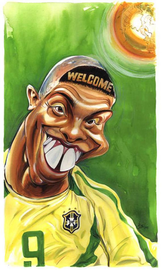 14 Caricaturas Graciosas De Jugadores De Futbol Blogerin