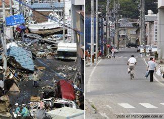 Japon 3 meses después Tsunami