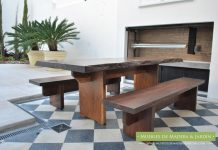 Mesa de Lapacho