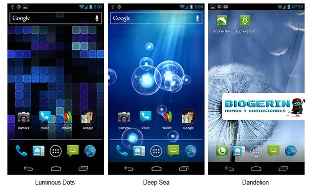 Fondos animados para android samsung galaxy s3 blogerin for Wallpapers animados para android
