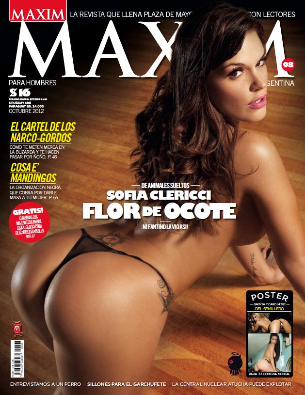 Sofia Clerici revista maxim septiembre