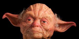 Escultura realista maestro Yoda