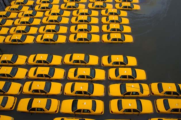 Imagenes del huracan Sandy