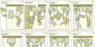 posturas de camapara padres con bebes