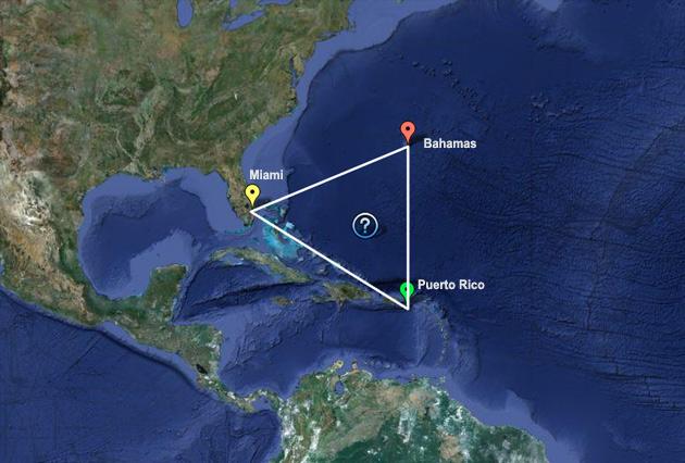 Triangulo De Las Bermudas Ciudad Perdida