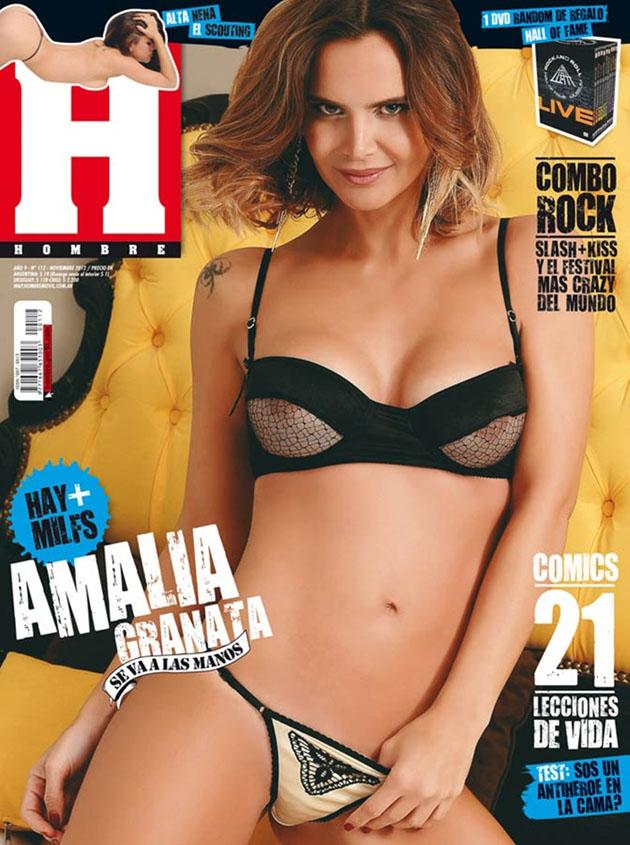 Amalia Granata en H de noviembre