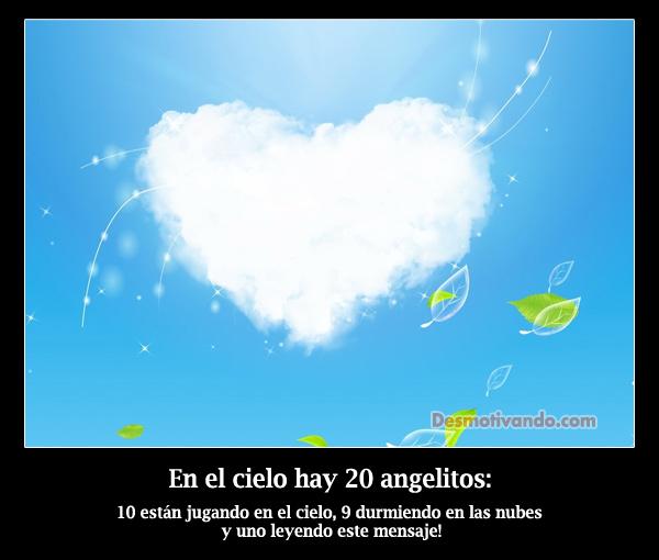 Angelitos en el cielo frases - Imagui
