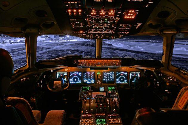 cabina de avion