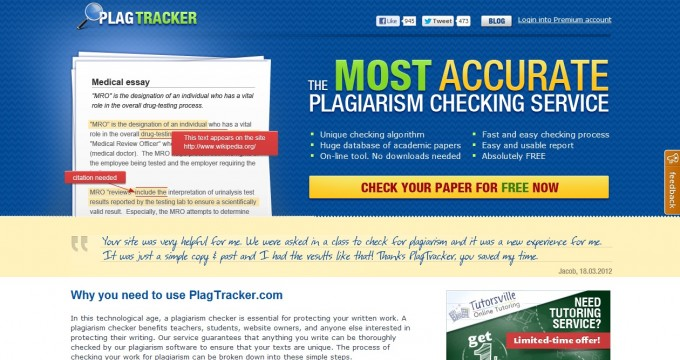 checking essays for plagiarism Plagiarism free essays are important when it comes to free plagiarism checking 123helpme is a custom writing company that offers expert help with academic.