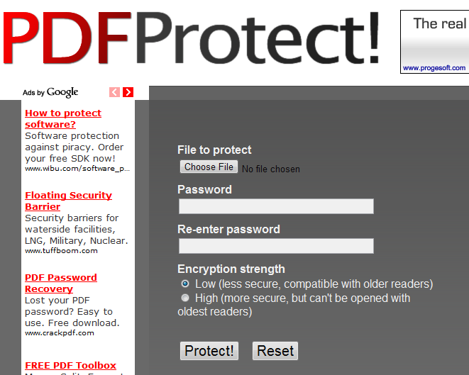 how to download protected pdf file from website