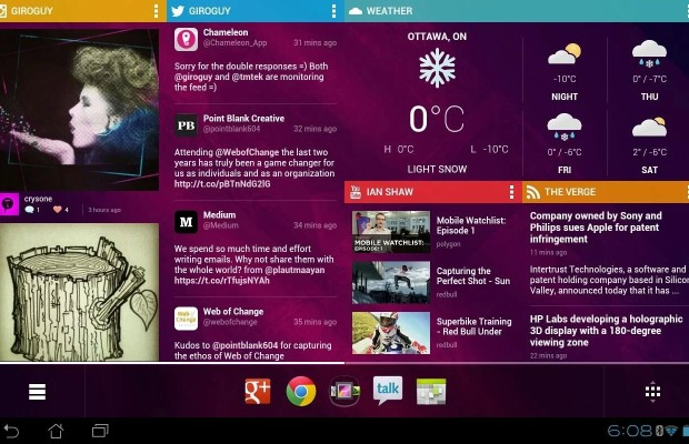 Chameleon Launcher android