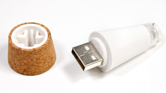 corcho led usb